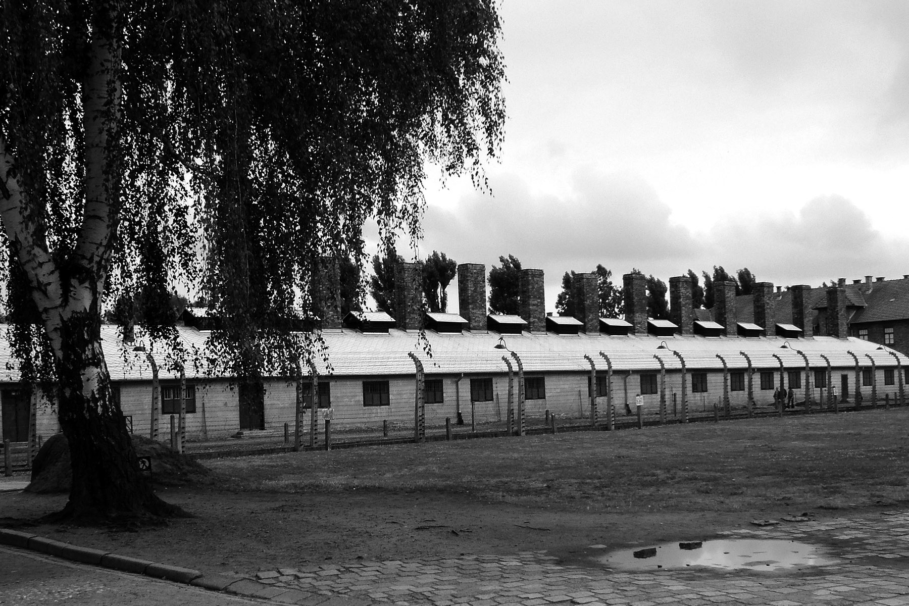 Auschwitz 1 – accommodation huts