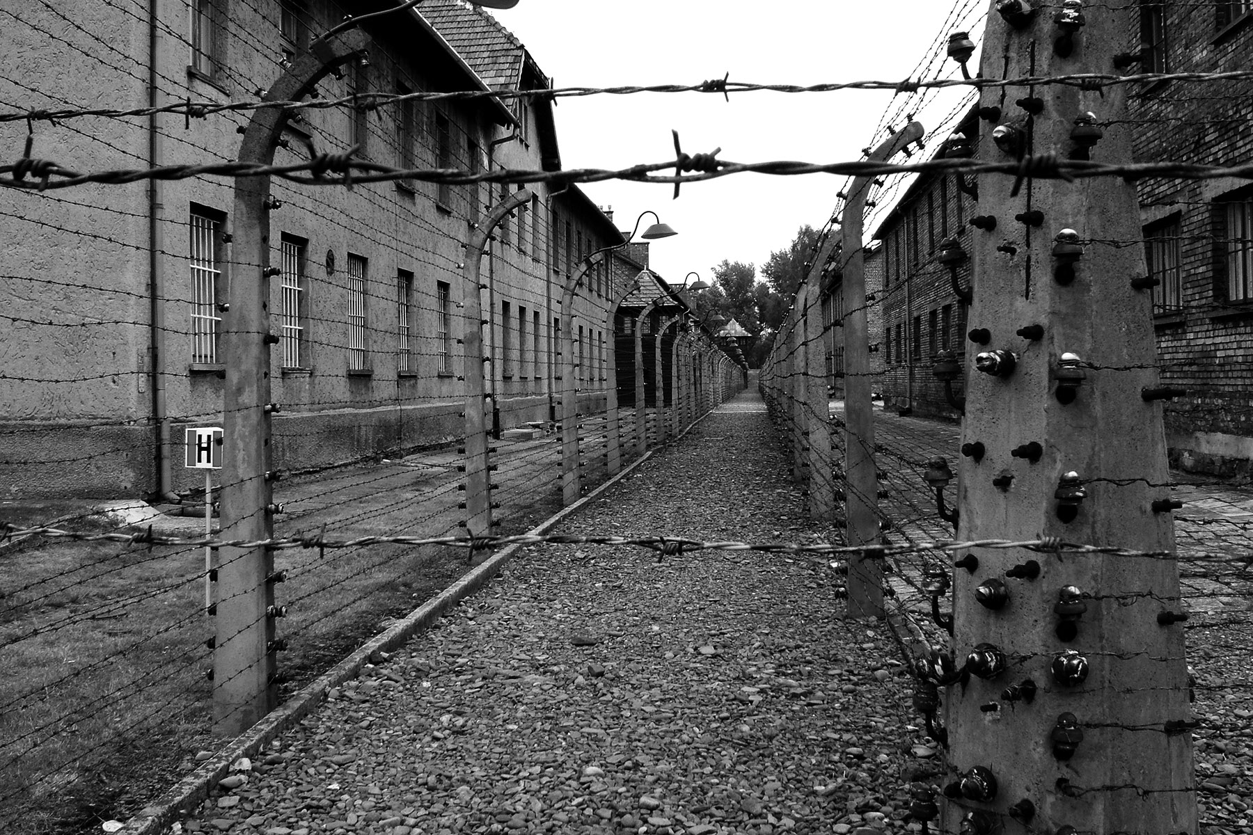 Auschwitz 1 – workhouses
